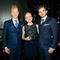 Will Tudor, Sasha-Wilkins and Michael Fox