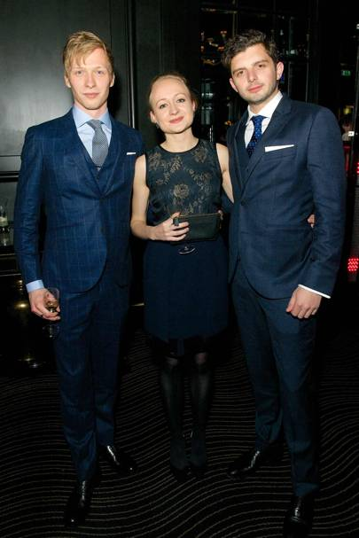 Will Tudor, Sasha-Wilkins and Michael Fox