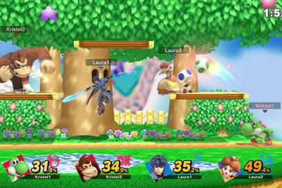 Super Smash Bros Ultimate Nintendo Switch What The Top Players