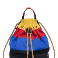 Navy sailor backpack by JW Anderson