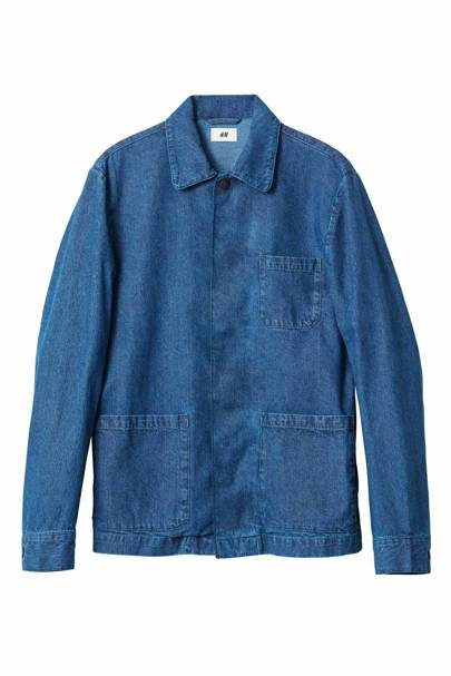 David Beckham H&M Modern Essentials denim jacket