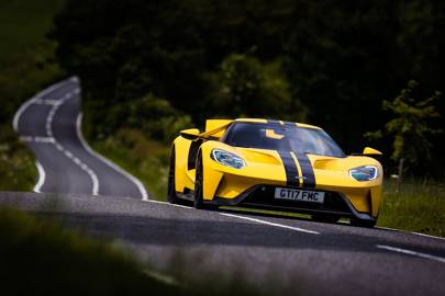 Ford Gt  Driven In Britain For The First Time