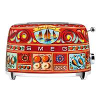 TSF01D&G  two-slice toaster by Smeg x Dolce & Gabbana