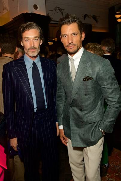 Richard Biedul and David Gandy
