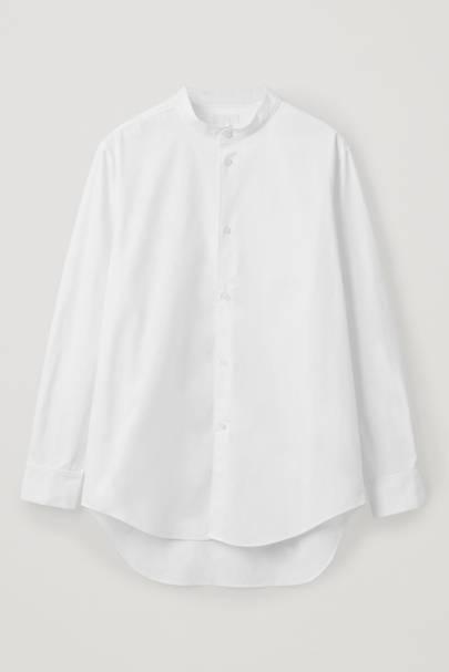 5. A white grandad shirt