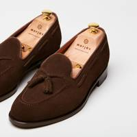 Suede loafers by Morjas