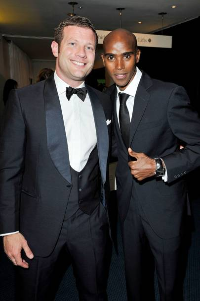 Dermot O'Leary and Mo Farah