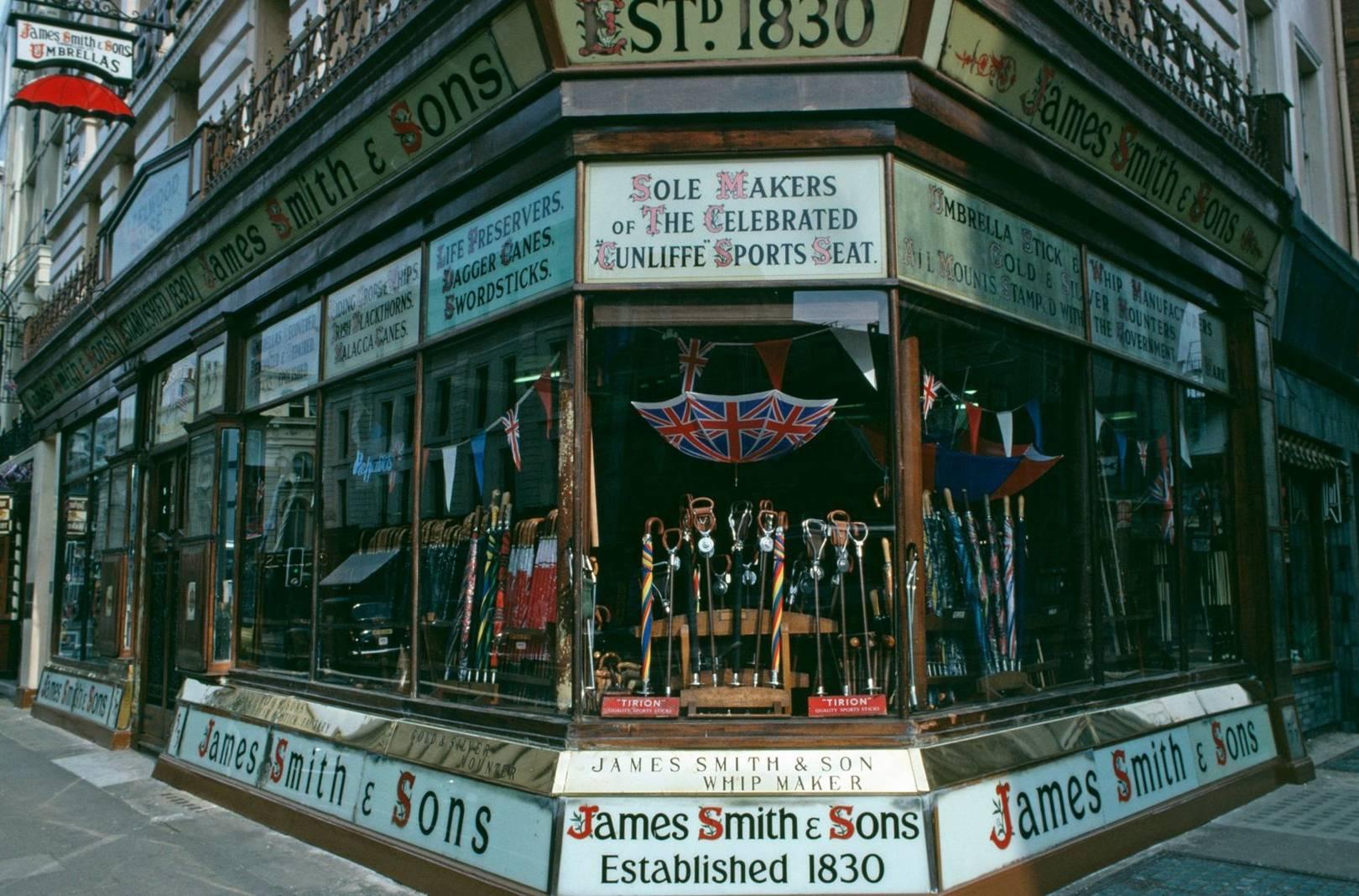 where to get the best bespoke umbrellas in britain british gq