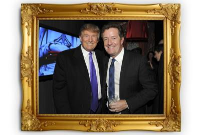 3a0542aad Piers Morgan says Donald Trump s  judgment is spot on