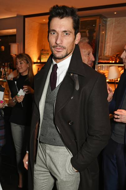 'Be an individual' – David Gandy, model