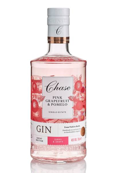 Pink Grapefruit and Pomelo Gin by Chase Distillery
