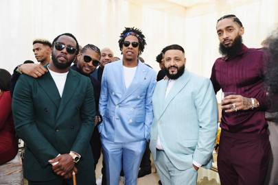 Diddy, Jay-Z, DJ Khaled and Nipsey Hussle