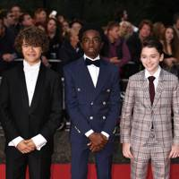 Gaten Matarazzo, Caleb McLaughlin and Noah Schnapp
