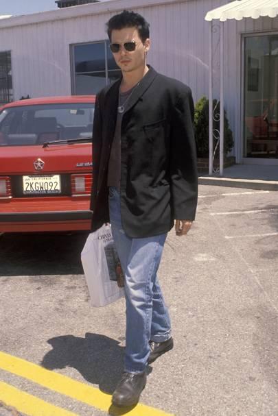 Johnny Depp, 1990
