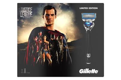 Gillette Justice League Shaving Kit