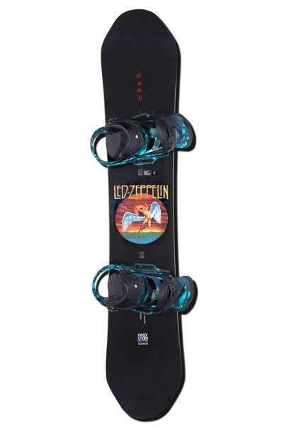 Led Zeppelin snowboard by Burton