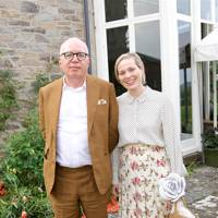 Michael Wolff and Victoria Floethe