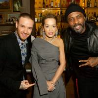 Liam Payne, Rita Ora and Idris Elba