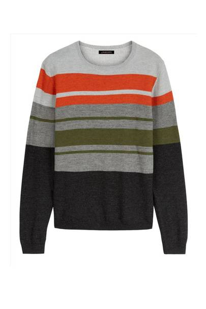 Jaeger colour-block jumper