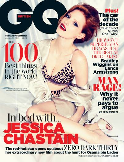 Jessica Chastain - January 2013