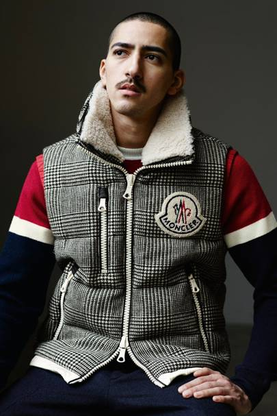 Of course there s a strong representation of Moncler s trademark padded  outerwear 04c37800af2