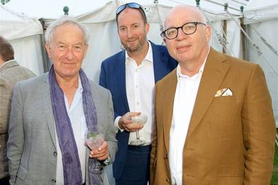 Simon Schama, Guto Harri and Michael Wolff