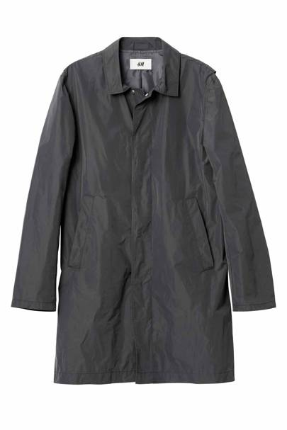David Beckham H&M Modern Essentials overcoat