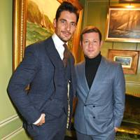 David Gandy and Dermot O' Leary