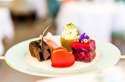 Valentine's afternoon tea at Fortnum & Mason