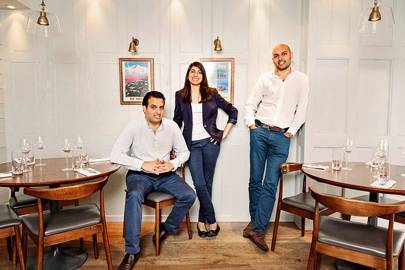 9. Best Restaurateur: Karam, Sunaina and Jyotin Sethi