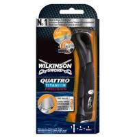 Quattro Titanium Razor by Wilkinson Sword