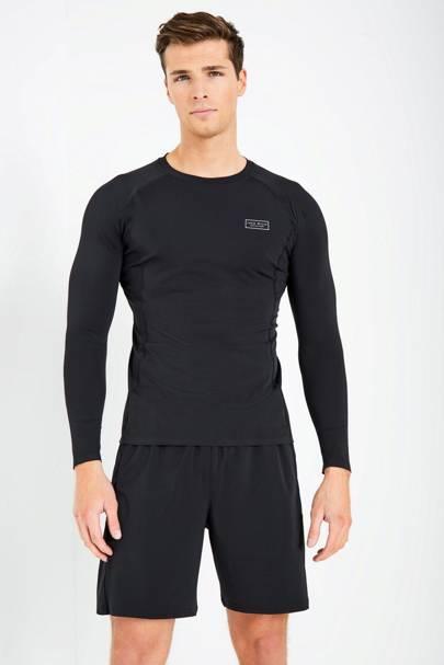 Jack Wills Henworth long-sleeve gym shirt