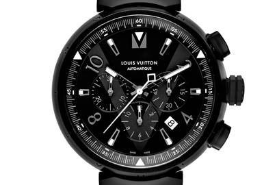 Louis Vuitton All Black Tambour 15 Years Of Watchmaking British Gq