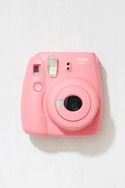 Instax Mini 9 flamingo pink instant camera by Fujifilm