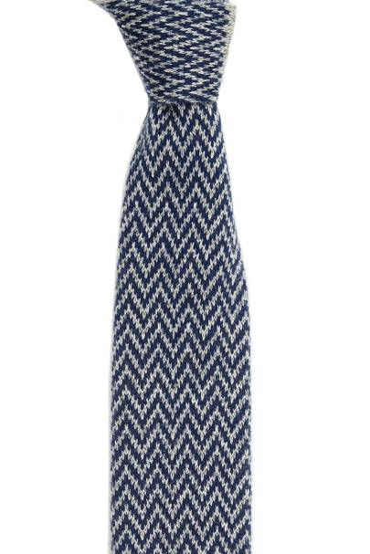 Augustus Hare cashmere knitted tie