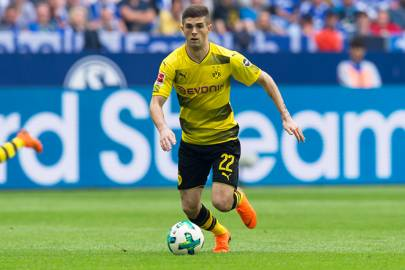 Borussia Dortmund - BVB Social News Christian-pulisic-gq-11may18_getty_b