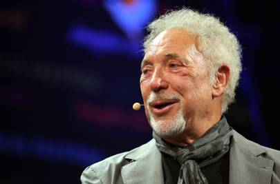 Tom Jones opens up about wife's death