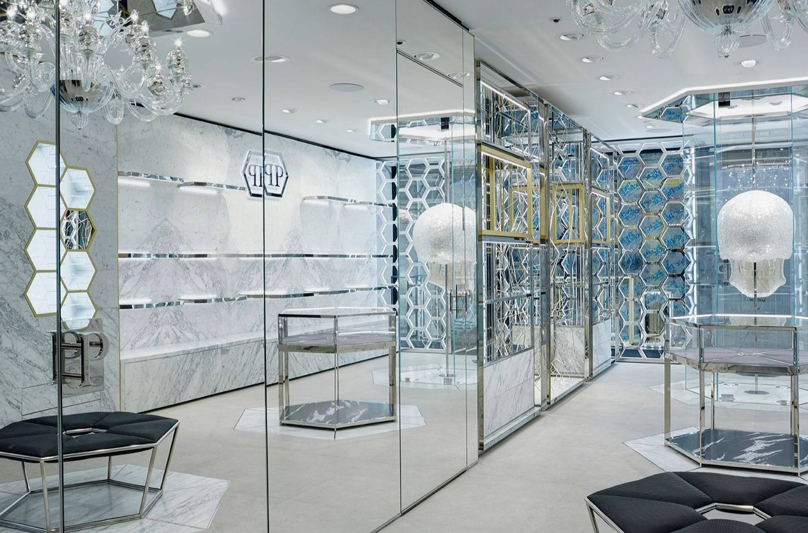 b47db0fcac2 Philipp Plein just opened London's brightest, ballsiest flagship store    British GQ