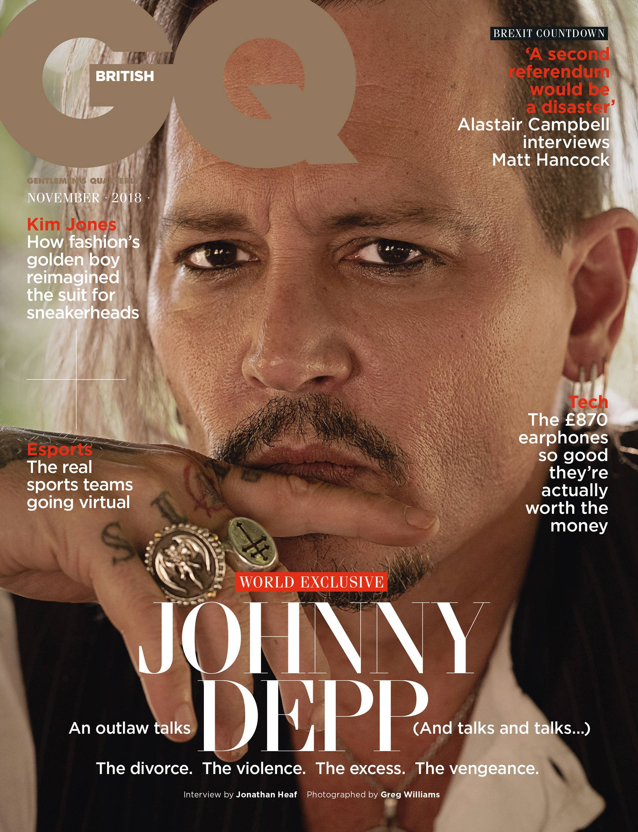 d3b9887ee4e Johnny Depp interview 2018  A world exclusive discussion with the actor
