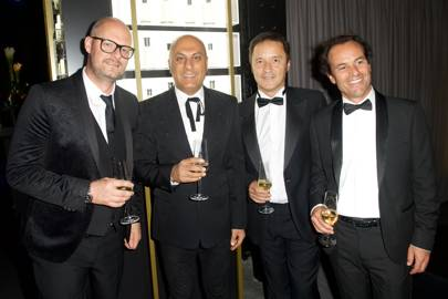 Adam Anderson, Commercial Director, The Fragrance Shop, Sanjay Vadera, CEO, The Fragrance Shop, Txema Marquiequi, Senior VP, Coty Luxury and Alexis Vaganay, General Manager, Coty Luxury UK&I