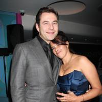David Walliams and Tracey Emin