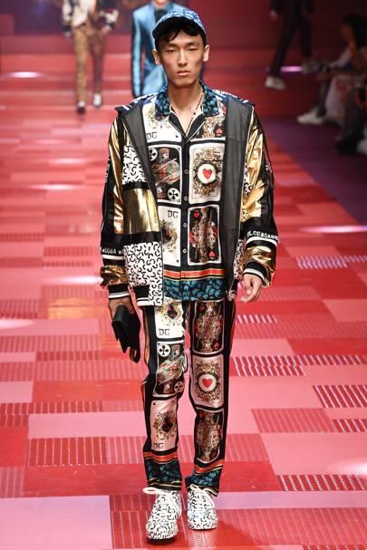 1562675e3ebe Dolce & Gabbana Spring/Summer 2018 Menswear show report | British GQ