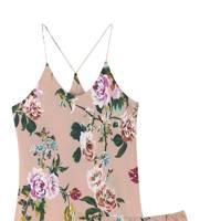 Silk pyjama set by Olivia von Halle