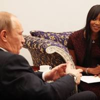 March 2011 - Naomi Campbell interviews Vladimir Putin