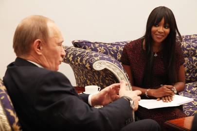 March 2011 - Naomi Campbell interviews Vladimir Putin