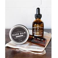 Beard kit by The Mailroom Barber Co