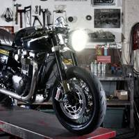 The GQ-Barbour International Triumph Thruxton R by Untitled Motorcycles