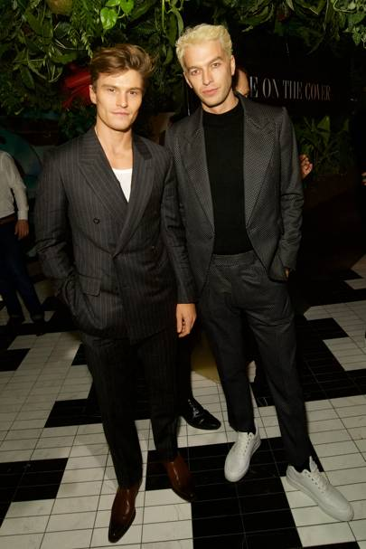 Oliver Cheshire and Josh Parkinson