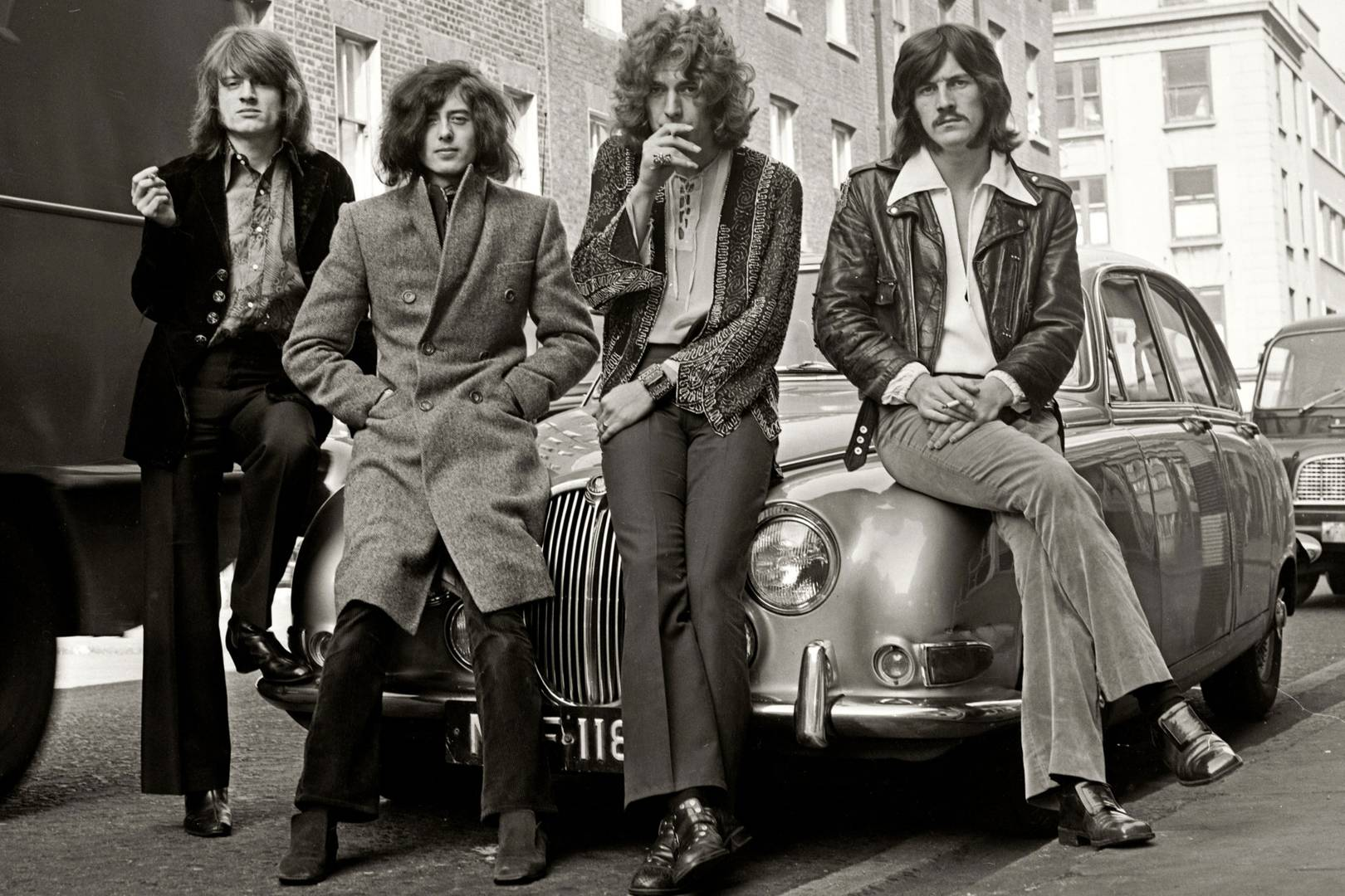 led zeppelin fashion and style legacy told through archive photos
