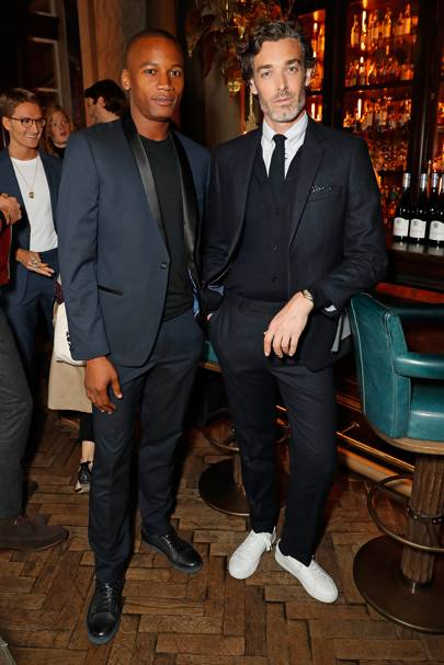 Eric Underwood and Richard Biedul (and Oliver Proudlock)